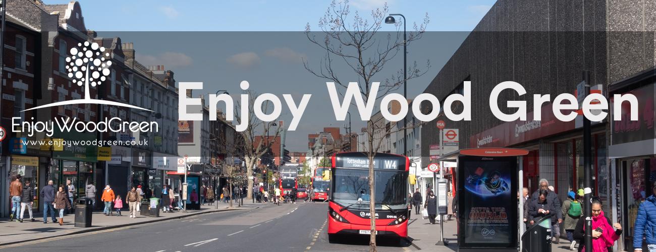 Enjoy Wood Green Banner