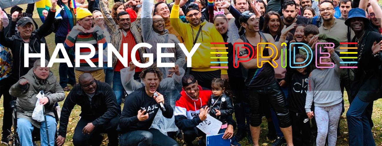 Haringey Pride Banner - BID Website