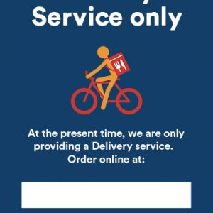 A4 Poster - Delivery Service