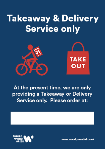 Delivery and Take away Poster