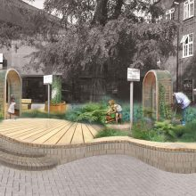 Wood Green BID to transform front of Library