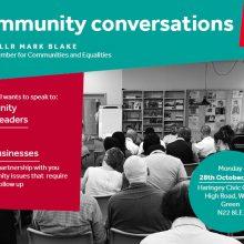 Community Conversation in Wood Green