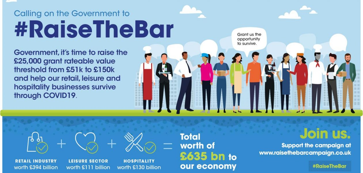 #RaisetheBar Campaign to support businesses over the £51k threshold