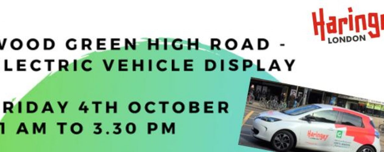 Wood Green High Road Electric Vehicle Display
