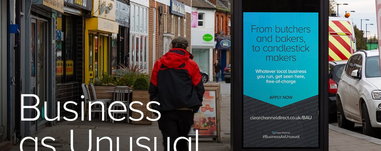 Clear Channel offers 250 free-of-charge digital Out of Home campaigns to local businesses