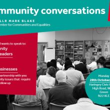 Community Conversation in Wood Green